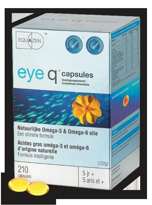 Equazen eye q capsules - de slimme formule met omega 3- en 6-vetzuren