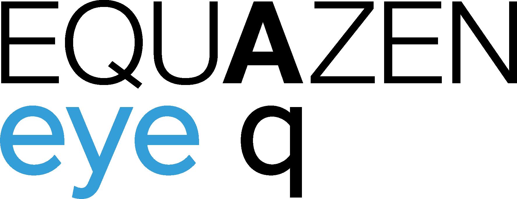 Equazen eye q omega 3 en omega 6 vetzuren uit visolie (EPA en DHA) en teunisbloemolie (GLA) logo RGB 2