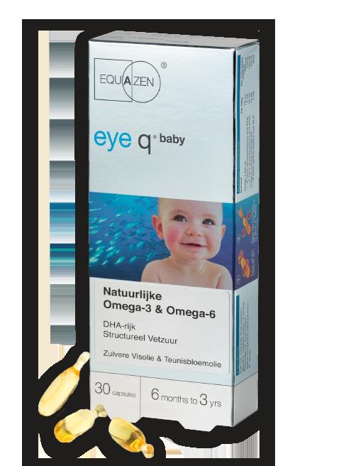 Equazen eye q baby - DHA-rijke visolie voor pasgeboren baby's en jonge kinderen
